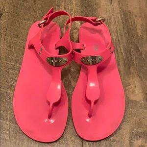 Michael Kors jelly gladiator sandal